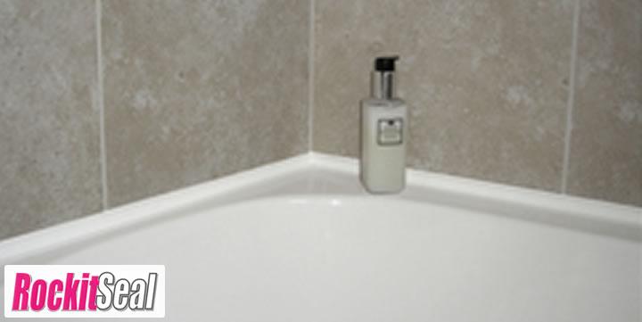 Rockitseal Modern Slim Line Bath And Shower Seals Easy Fit